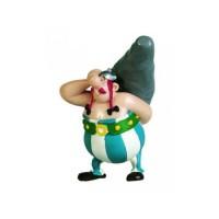 Obelix & Asterix  - Obelix and his Menhir Figurine