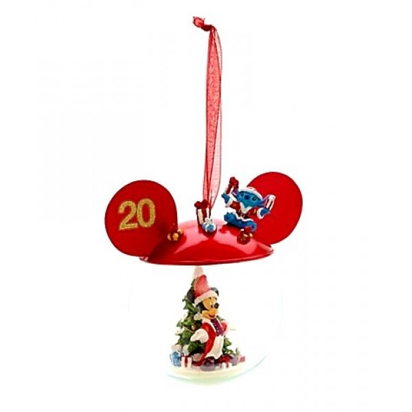 Disneyland Paris 20th Anniversary Mickey Mouse Bauble, extremely Rare