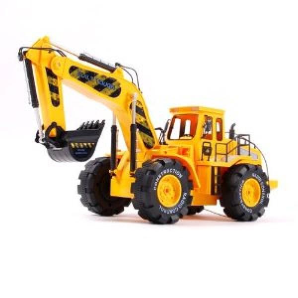 Construction Building Monster Bulldozer Digger Truck