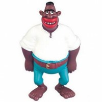 Obelix & Asterix   - Baba the African Pirate Figurine