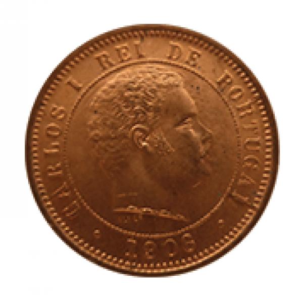 1906 D. Carlos I 5 Réis