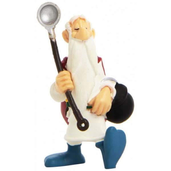Obelix & Asterix   - Getafix with Cauldron Figurine