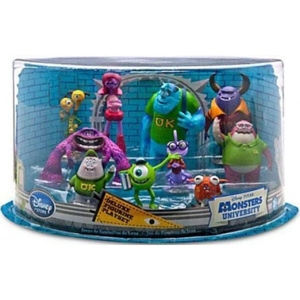 Disney Pixar Monsters University Deluxe Figurine Play set