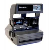 Polaroid Instant Camera 636 Closeup
