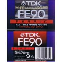 TDK FE 90 Low Noise Pack of 6