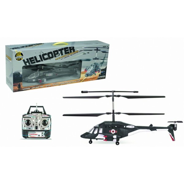 Radio Control Military Helicopter 3-Channel with Gyro