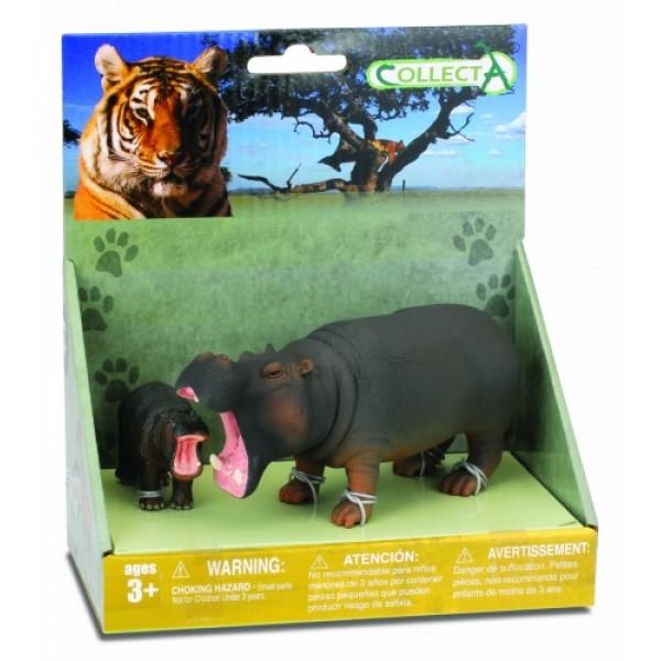 CollectA Wildlife 2 Set - Rhino