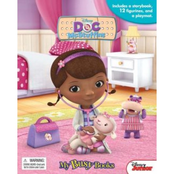 Disney DOC Mcstuffins, My Busy Books