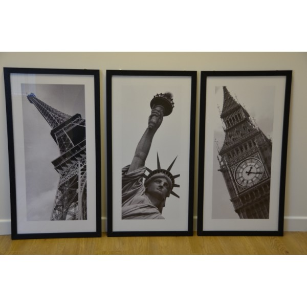 Black and White pictures (set of 3)