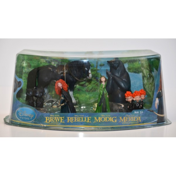 Brave Deluxe Figure Play set