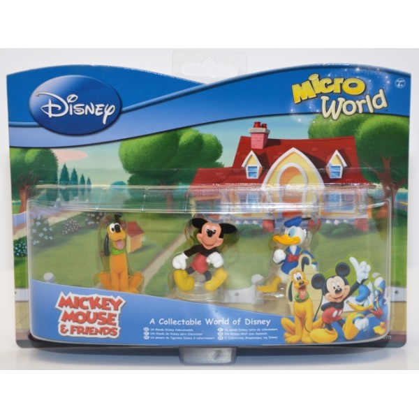 Disney Mickey Mouse & Friends Micro World