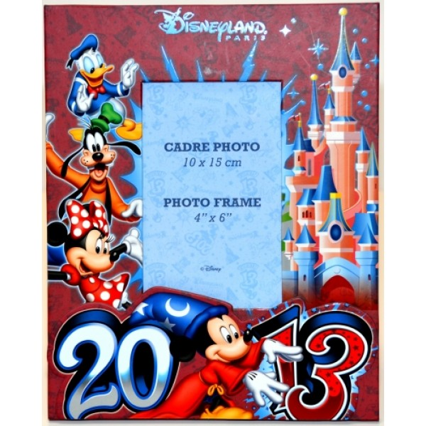 Disneyland Paris Photo Frame 2013