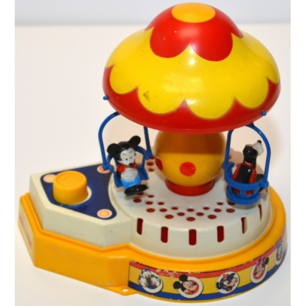Mickey Mouse Vintage Musical Carousel