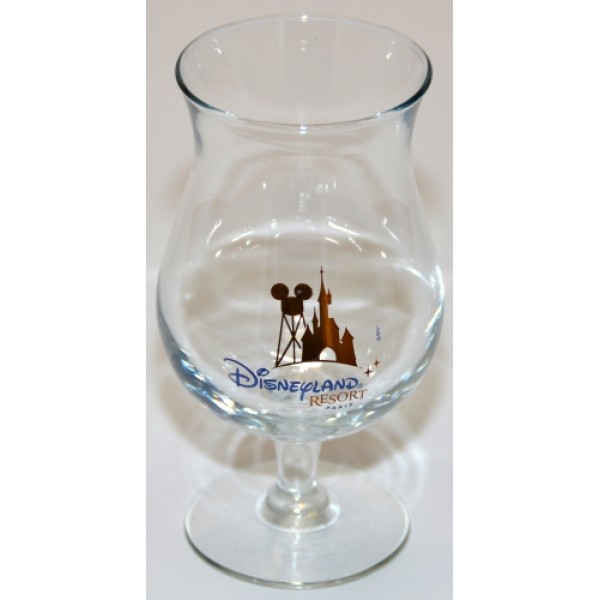 Disneyland Paris Authentic Pina Colada Cocktail Glass (Rare)