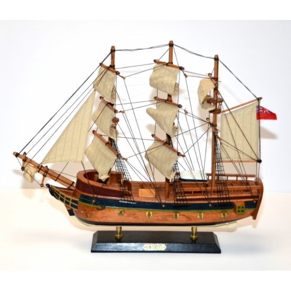 HMS Bounty Wooden Ship