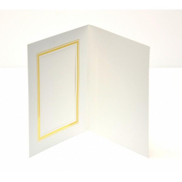 Pearl White Slip-in Photo Folder 6x4 (30 x Units )