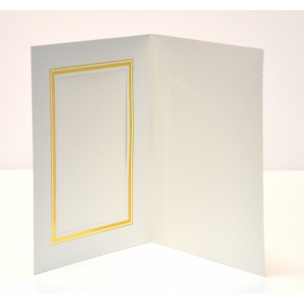 Pearl White Slip-in Photo Folder 6x4 (30 x Units )