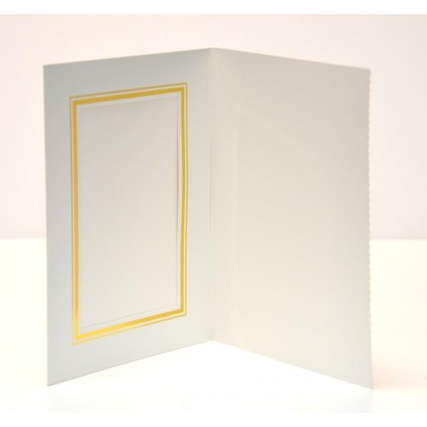 Pearl White Slip-in Photo Folder 6x4