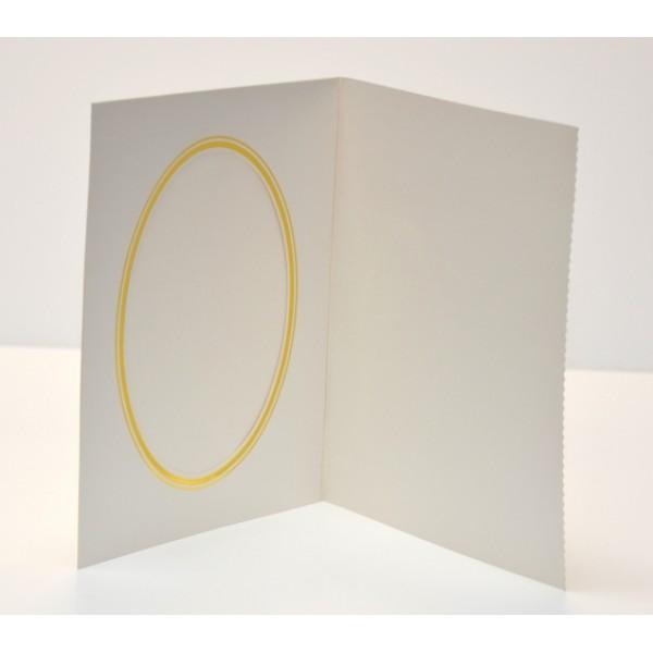 Pearl White Slip-in Photo Folder 8 x 6