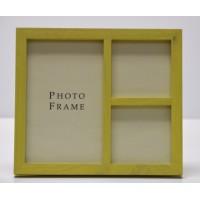 Photo Frame 5x7- 2x(3x3)Green