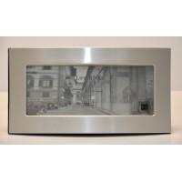 Photo Frame 4x10 Brushed Aluminium