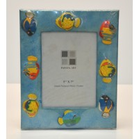 Photo Frame 5x7 Hand Painted