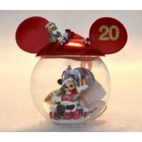 Disneyland Paris 20th Anniversary Minnie Mouse Bauble,Rare