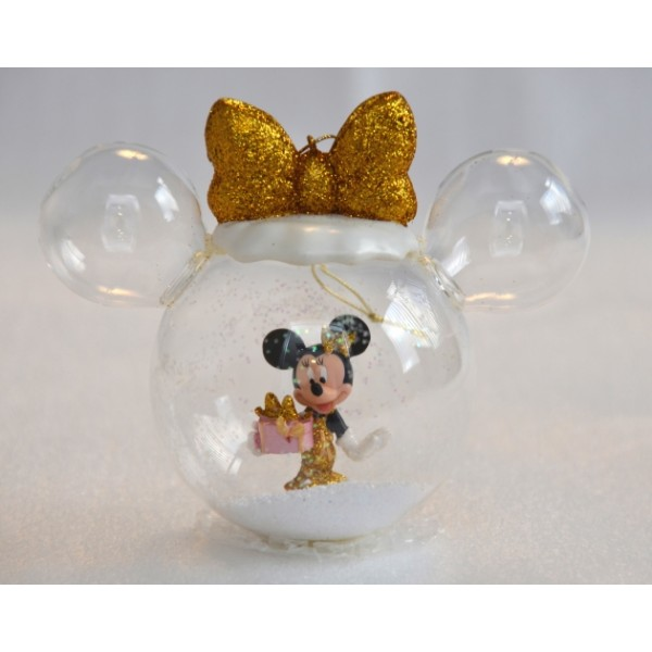 Disney Minnie with Present Bauble