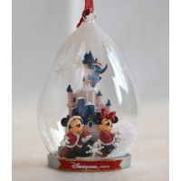 Cinderella Castle and Characters Disneyland Paris Ornament