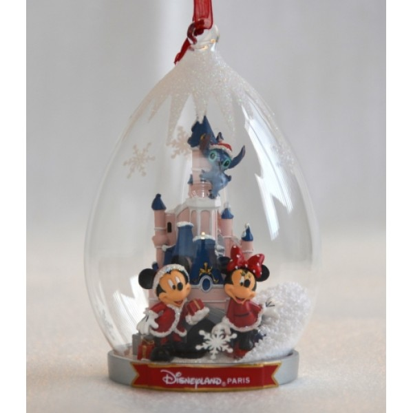 Cinderella Castle and Characters Disneyland Paris Ornament