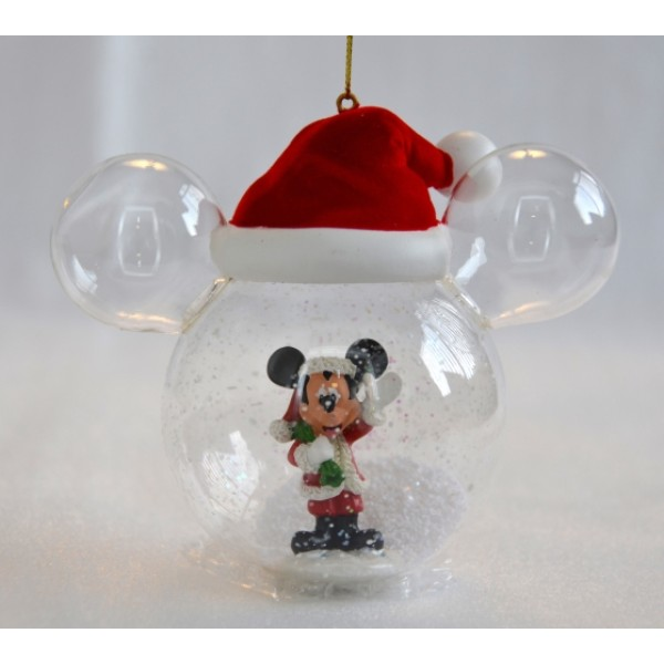 Mickey Bauble Santa Hat