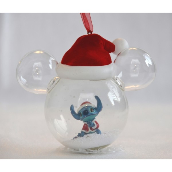 Stitch Bauble Santa Hat
