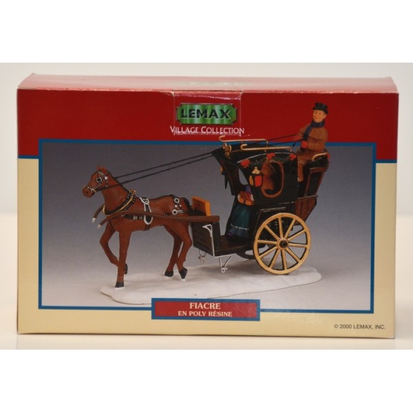 Lemax Christmas Village Collection Hansom Cab