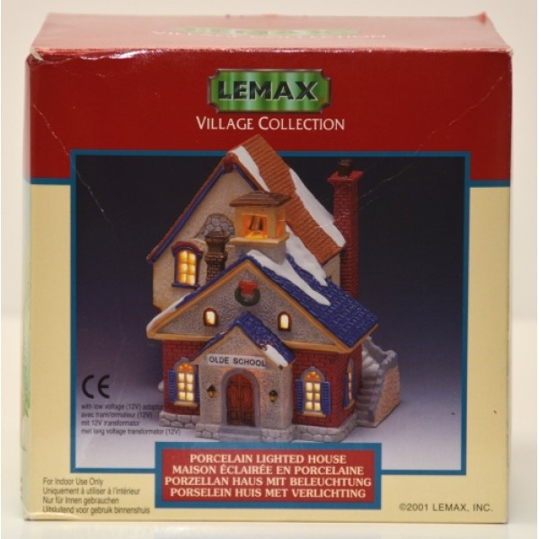Lemax Village Collection Olde School