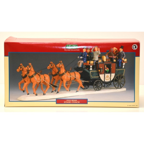 Lemax Village Collection Stage Coach