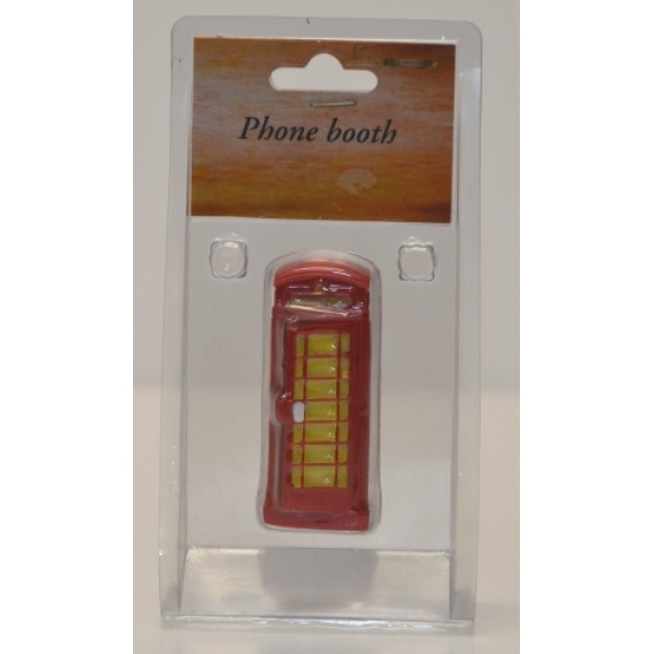 Lemax Christmas Village Telephone Booth