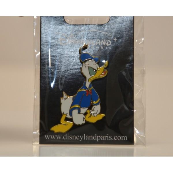 Disneyland Paris Donald Duck Angry Pin