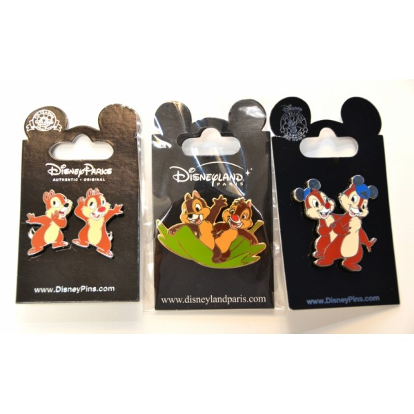 Chip and Dale Trading Pins Set
