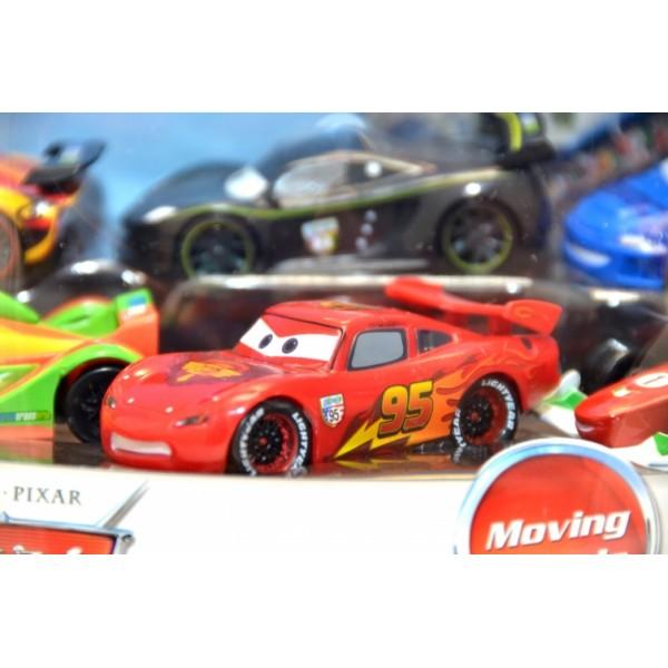 Cars Moving Wheels Disney Pixar Playset