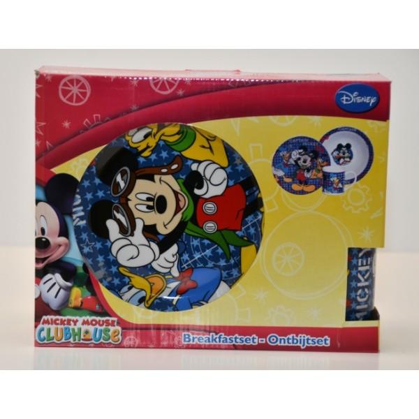 "Mickey Mouse ""Captain Mickey"" breakfast Set"