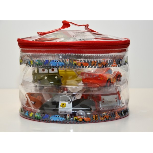 Disney Cars bath set Squeeze Toys