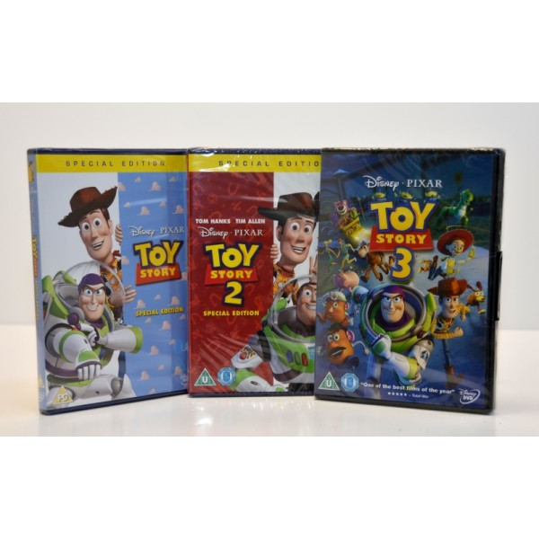 Toy Story 1 and 2 and Toy Story 3 Special Edition