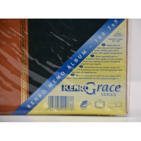 Kenro Grace 7x5 Memo Album