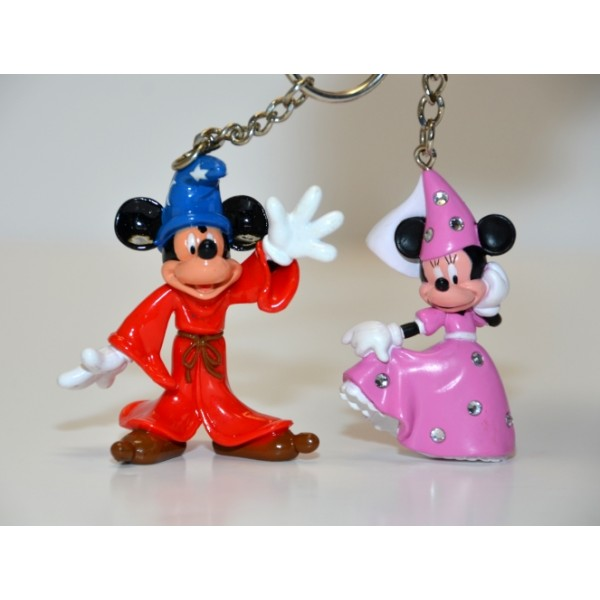 Disney Minnie and Mickey Mouse 3D Key Ring