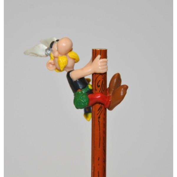 Obelix & Asterix  - Asterix on Pencil Figurine