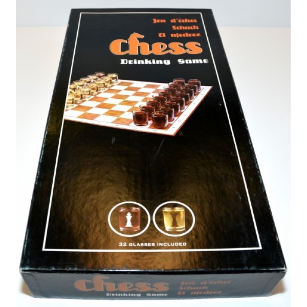 Chess Drinking Game Set