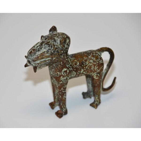 Benin African Bronze Leopard