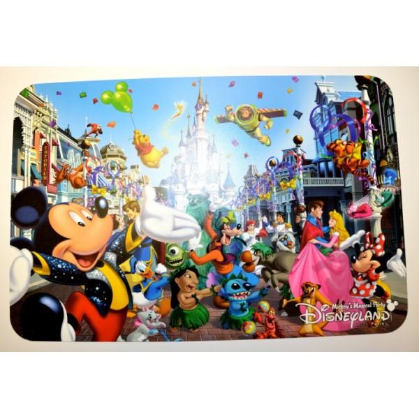 Disneyland Resort Paris Mickey and Friends Placemat