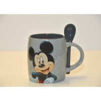 Disney Mickey Mouse Mug and Spoon