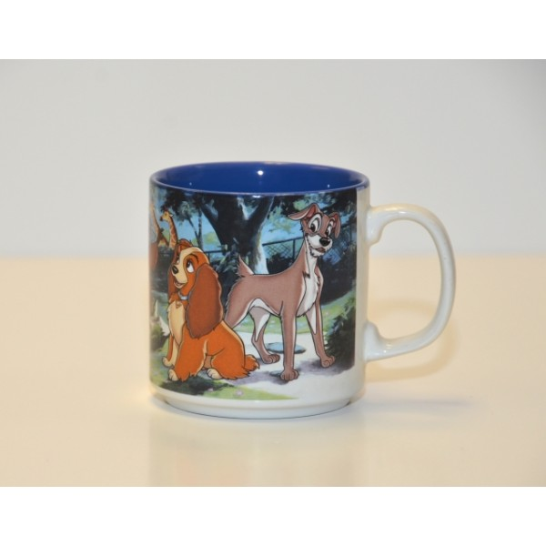 Vintage Disney animated Lady and the Tramp Mug